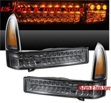 Ford F250 F350 Klarglas LED Blinkleuchten smoke 99 - 04 Excursion 1999 2004 00