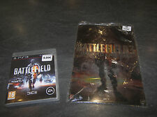 JEU PS3 BATTLEFIELD 3 + GOODIES PLAQUE METAL DECO 20X30 COMPLET EA OCCASION