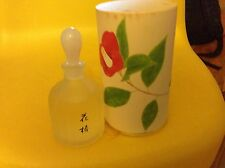 Perfume vintage SHISEIDO Hanatsubaki EDP splash 50ml JAPAN 1987 1.7oz 1.6oz