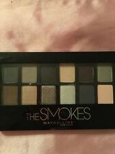 Maybelline The Smokes Palette NEW BROWNS AND GRAY EYESHADOW EYE COLOR LOOK