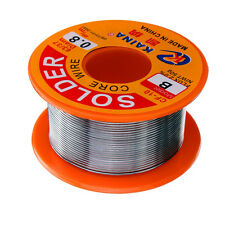 0.8mm 50g Rosin Core Solder 63/37 Tin Lead Flux Soldadura Welder Iron Wire Reel