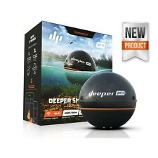 Deeper PRO+ GPS Wi-Fi Wireless Smart Sonar Depth Fish-Finder for iOS or Android