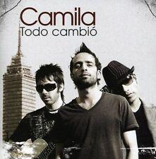 Camila - Todo Cambio [New CD]