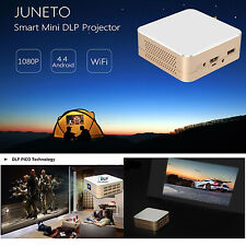 Mini HD 4K 1080P Android IOS DLP WiFi 3D Video TV Home Theater Projector HDMI SD
