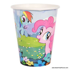 My Little Pony Party CUPS Supplies Decoration Birthday Pink Horse Girl Favors x8