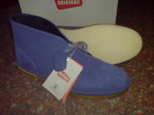 New Clarks Original Mens ** DESERT BOOTS  ** DARK BLUE SUEDE ** UK 10.5 / 10