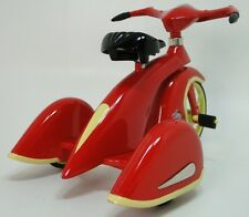 Rare 1930s Tricycle Pedal Car Vintage Red Classic Precision Midget Show Model