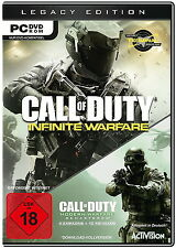 Call of Duty Infinite warfare Legacy Edition d1 pc 2016 nouveau steam Key & DVD BOX