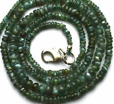 Natural Super Quality Alexandrite Chrysoberyl 2 to 5MM Smooth Beads Necklace 20""