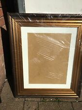 "large ribbed gold frame 20""x16"" 20""x15"" 20""x14"" 18""x14"" 18""x12"""