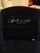 RAYFIELD WRIGHT AUTOGRAPHED TEXAS STADIUM SEAT BOTTOM DALLAS COWBOYS JSA