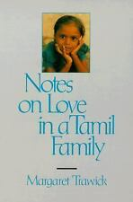 NEW Notes on Love in a Tamil Family by Margaret Trawick Paperback Book (English)