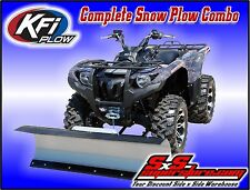 "KFI ATV 48"" Snow Plow Kit Combo Polaris Sportsman ETX 2015"