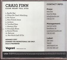 craig finn clear heart full eyes cd limited edition the hold steady
