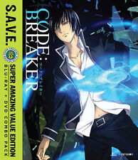 Code:Breaker: The Complete Series - S.A.V.E.  (BD/DVD, 2016, 4-Disc Set)