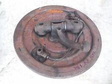 Porsche 356 B Front Drum Brake Backing Plate (Right,P. Side)+Wheel spindle FL#2