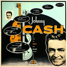 Johnny Cash WITH HIS HOT & BLUE GUITAR Debut Album ORG MUSIC New Vinyl LP