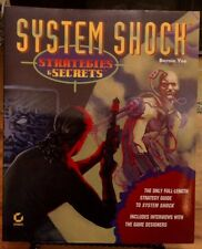 1995 System Shock Strategies & Secrets by Bernie Yee Sybex for PC Paperback