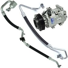 New A/C Compressor,Clutch and hose kit. Fits Kia Rondo 2007-09 2.4L  977011D200A