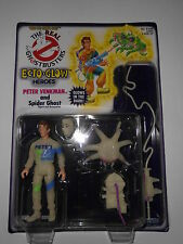 Peter Venkman Ghostbusters ecto Glow Heroes nuevo unpunched MOC 1991 Kenner personaje
