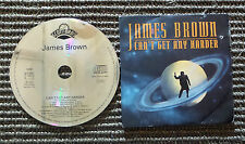 "CD AUDIOINT / JAMES BROWN ""CAN'T GET ANY HARDER"" CD SINGLE  1992 SCOTTI BROS"
