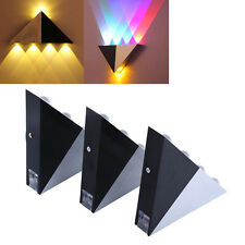 Triangle 5W LED Lamp Wall Spot light Sconce Fixture Path Sconce Lighting Decor