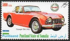 1962 TRIUMPH TR4 Sports Car Automobile Stamp