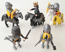 Playmobil Castle Figures Knights Horses Weapons Lot Bundle