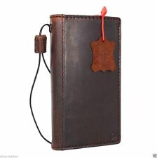 genuine real leather case for LG Nexus 5 book wallet slim cover retro cards