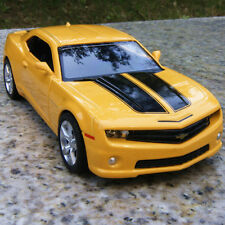 "Chevrolet Camaro Alloy Diecast Model Cars 5"" Yellow Toys Pull back function New"