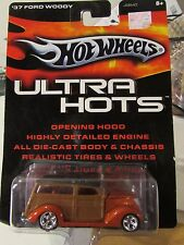 Hot Wheels Ultra Hots '37 Ford Woody