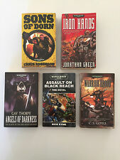 BLACK LIBRARY WARHAMMER 40,000 NOVEL SOURCE BOOK BUNDLE SPACE MARINES