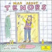 Mad About Tenors (CD, Aug-1993, DG) Placido Domingo, Luciano Pavarotti, and more