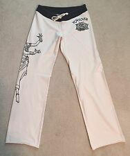 "Lucky Brand Sweatpants with ""Karma"" & Woman - Size Small - Rare"