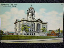 Early 1900's Brown County Court House Aberdeen, SD South Dakota PC