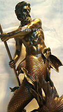 Poseidon Greek God Of The Sea Statue Sculpture Figurine Greek Mythology