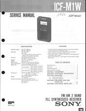 Sony Original Service Manual für ICF-M1W