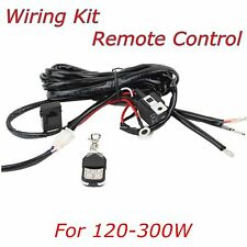 Wiring Harness Kit Remote Control Switch Relay Led Light Bar For 120W to 300W 2M