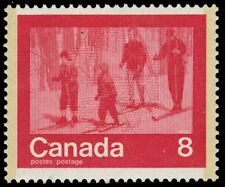 "CANADA 645 - Participaction ""Winter Sports"" Cross Country Skiing (pf39149)"
