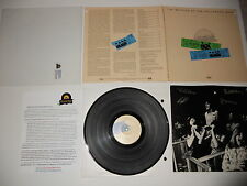 Beatles at the Hollywood Bowl 1st Wally 1977 Press Embossed ULTRASONIC CLEAN