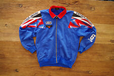 90s 90er True Vintage Asics Sweat Trainings Sweatjacke Radjacke Made in Japan L