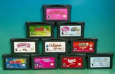10 Girl games Nintendo Game Boy Advance: Barbie Bratz Lizzie Polly Raven Cheetah