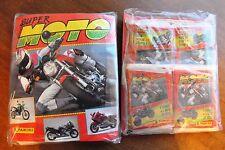 ALBUM DE CROMOS SUPER MOTO + 40 SOBRES CON 240 CROMOS Y 40 FIGURAS. PANINI.