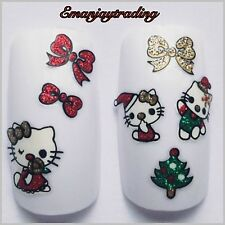 Nail Art 3D  Decals/Stickers Christmas Hello Kitty BLE938D #169