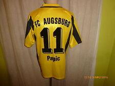"""Fc Augsburg Erima proporcionen matchworn camiseta 03/04 """"deuter"""" + nº 11 papic talla M-L"""