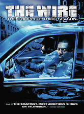 The Wire - The Complete Third Season (DVD, 2014, 5-Disc Set)---NEW, SEALED!!