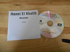 CD Pop Hanni El Khatib - Moonlight (2 Song) MCD INNOVATIVE LEISURE OTHER HAND