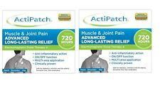 ActiPatch ElectroMagnetic Muscle Pain Relief All Sports Injuries *PACK OF 2*