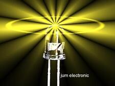 10 Stück Leuchtdioden  /  Led / 5mm GELB 4500mcd max. / hoher Fertigungsstandard