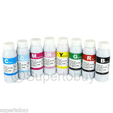 8pk Compatible Refill Ink Bottles 8 X 250ML For CANON PRO 9000 MARK II CISS